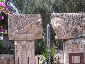 Ruins of Capernaum, Sea of Galilee, Israel