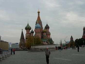 Russian cathedral on Red Square