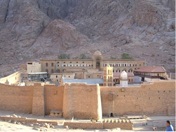 St. Catherine's Monastery, Foot of Mt. Sinai, Egypt