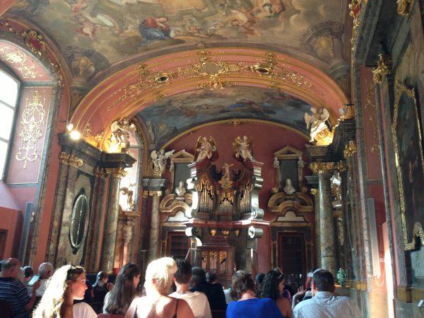 Organ concert at the Clementinum