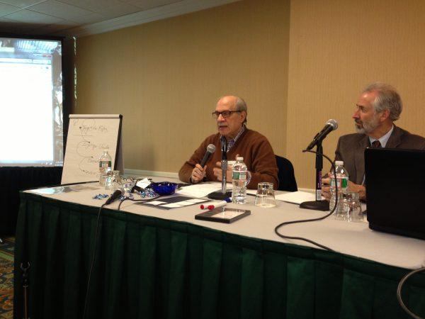 Antonino Ferro from Pavia near Milan teaching with IPI faculty member Jim Poulton of Salt Lake City