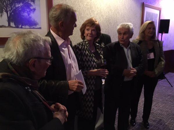 The book launch: Roberto Losso, David Scharff, Jill Scharff. Joaquín Pichon-Rivière, Lea Setton.