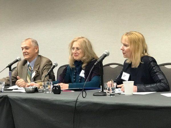 Panel: David Scharff, Jeanne Magagna, Caroline Sehon